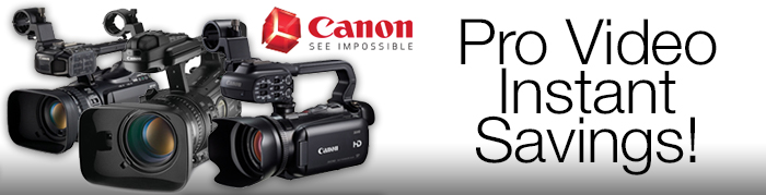 CANON PRO VIDEO CAMCORDER - IR - MAY 2018