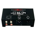 Galaxy Audio JIB/R RCA Combiner Stereo RCA In to 1 XLR or 1/4in Out