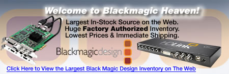 Markertek is BlackMagic Design Heaven