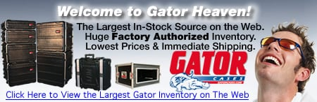 Markertek is Gator Case Heaven