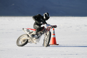 Jake Quick at Bonneville 2010