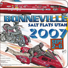 September 2007 Pictures - Bonneville Salt Flats