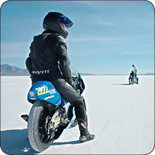 September 2008 Pictures - Bonneville Salt Flats