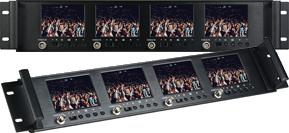 4x3.5 Rackmount Monitor