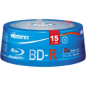 Memorex BD-R Blu-ray Recordable Disc 15 Spindle