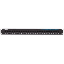 Black Box JPM814A CAT6 Feed-Through Patch Panel (24-Port)