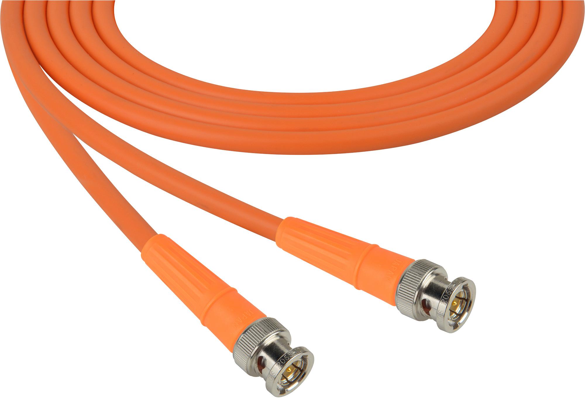 Belden 1694a Sdi Hdtv Rg6 Bnc Cable 6ft Orange