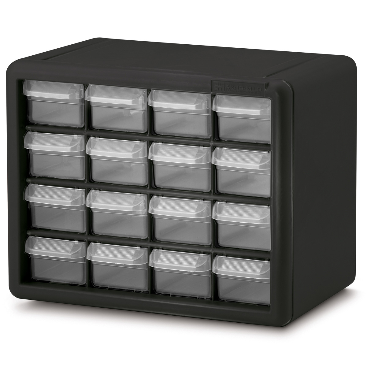 akro mils 10124 24 drawer plastic frame storage cabinet