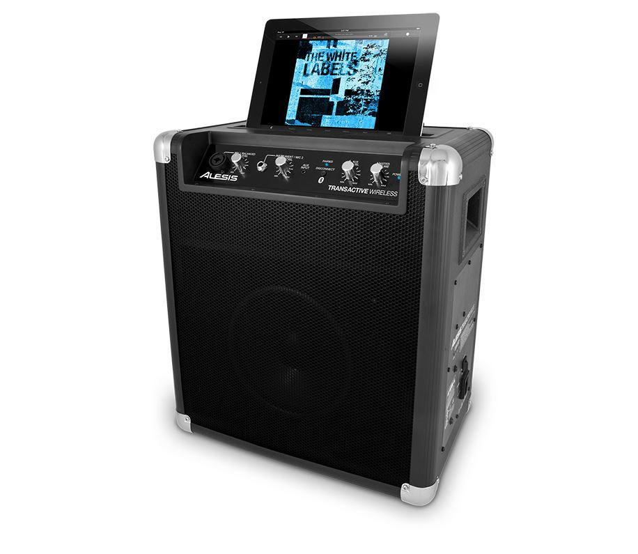 alesis transactive wmk2 portable powered bluetooth wireless speaker system. Black Bedroom Furniture Sets. Home Design Ideas
