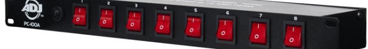 adj pc 100a 8 channel rackmount ac power center. Black Bedroom Furniture Sets. Home Design Ideas