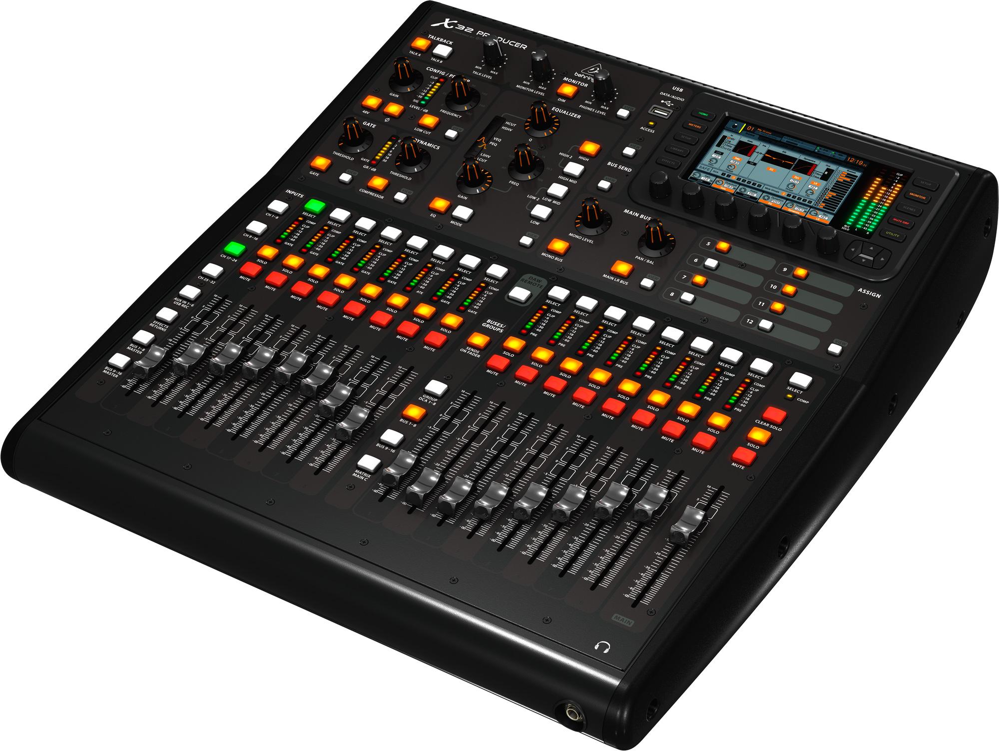 behringer x32 producer 40 input 25 bus rack mixer. Black Bedroom Furniture Sets. Home Design Ideas