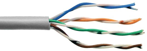 2 pair cable 24 gauge cat 3
