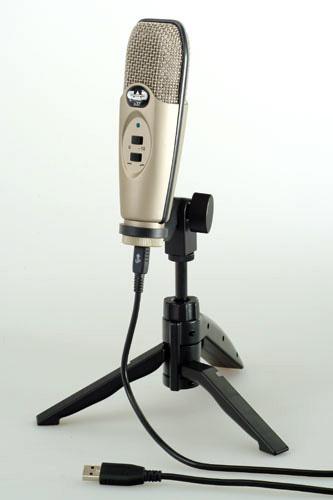 cad audio u37 usb studio recording microphone with tripod stand. Black Bedroom Furniture Sets. Home Design Ideas