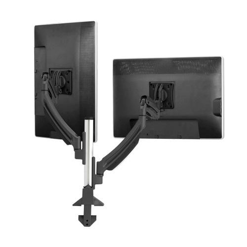 Chief k1c220b kontour dual dynamic column clamp mount for Chief motorized tv mount