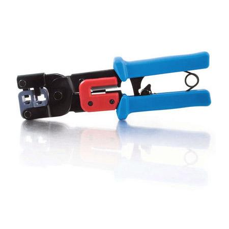 rj11 rj45 crimping tool with cable stripper. Black Bedroom Furniture Sets. Home Design Ideas