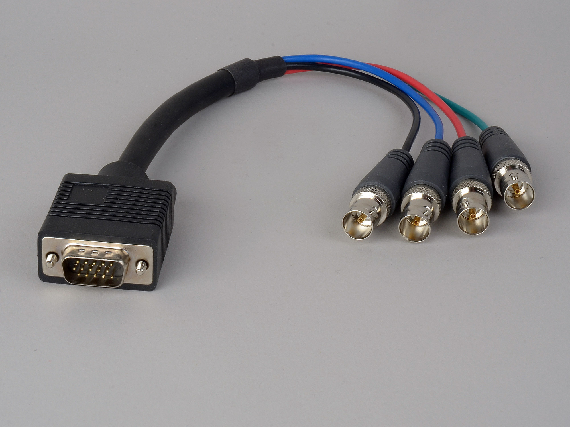 High Density Cable : High density d sub pin vga male to bnc female cable
