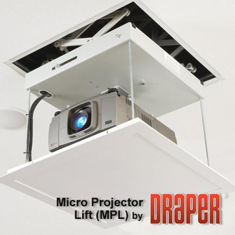 Draper 300198 micro projector lift for Micro projector screen