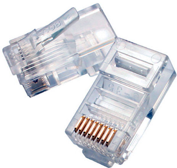 8p8c rj45 modular for solid wire 50 pack