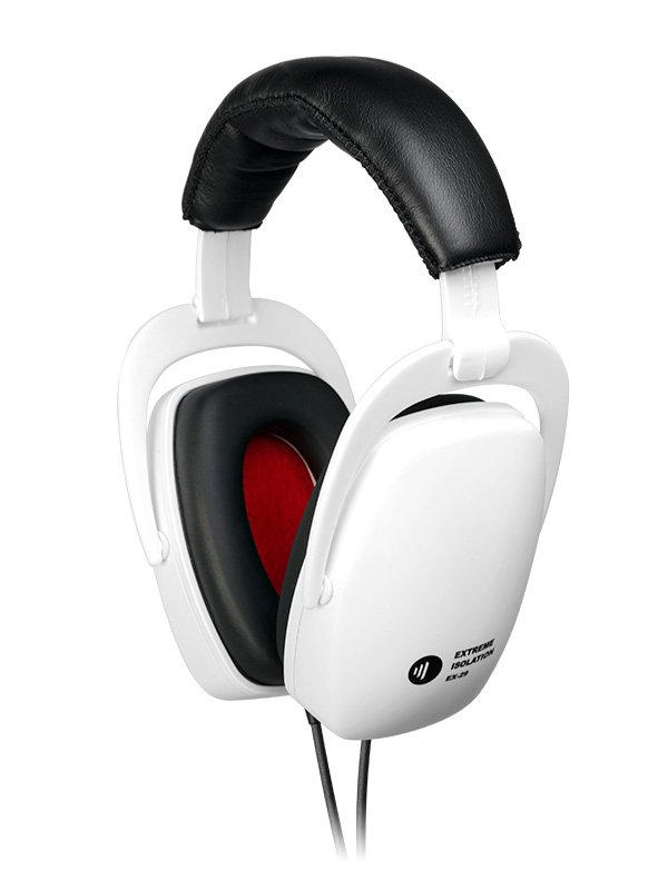 direct sound ex 29 extreme noise isolation headphones white. Black Bedroom Furniture Sets. Home Design Ideas