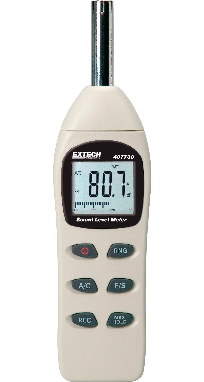 Digital Sound Meter : Extech digital sound level meter
