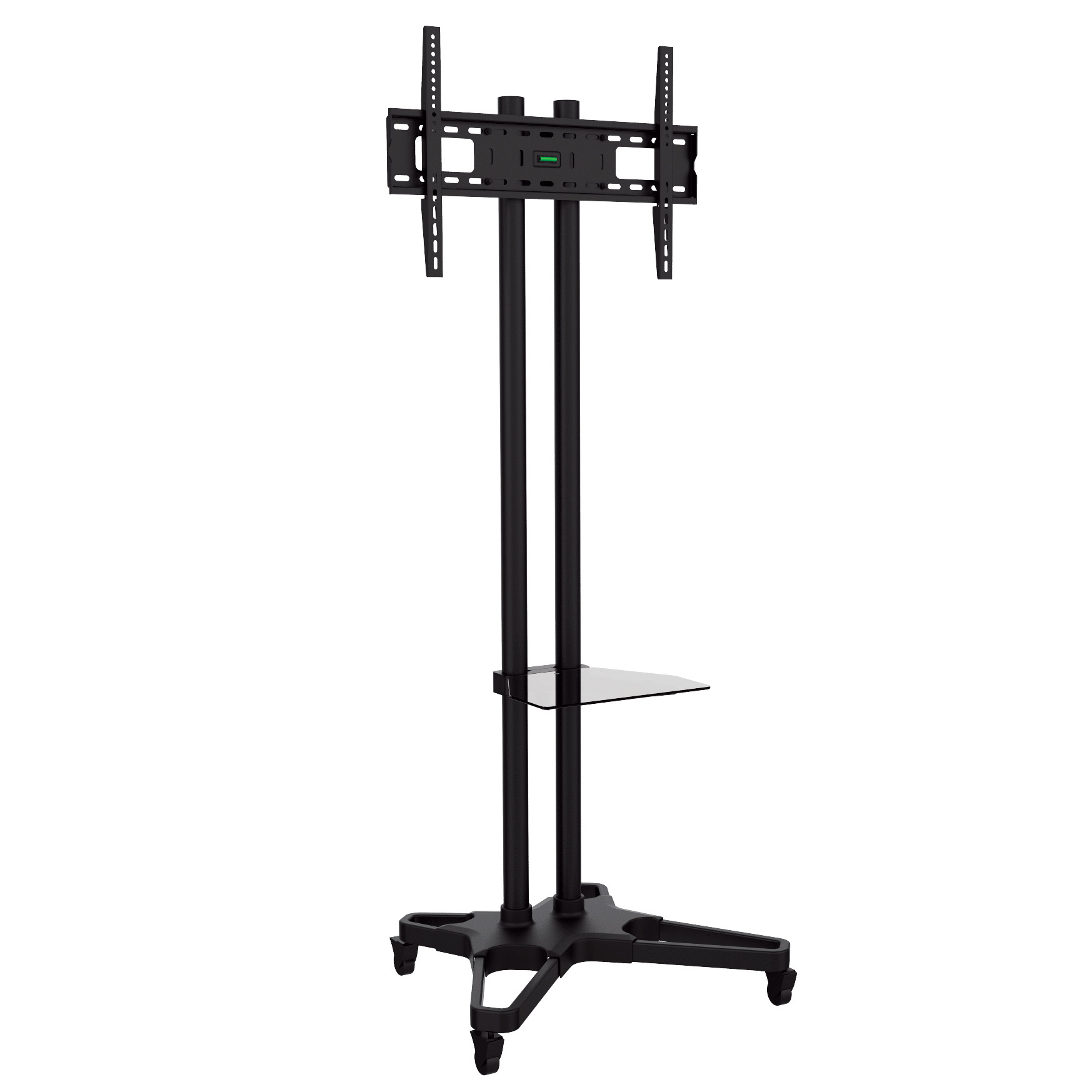 bentley mounts cms 1021b height adjustable mobile tv stand. Black Bedroom Furniture Sets. Home Design Ideas