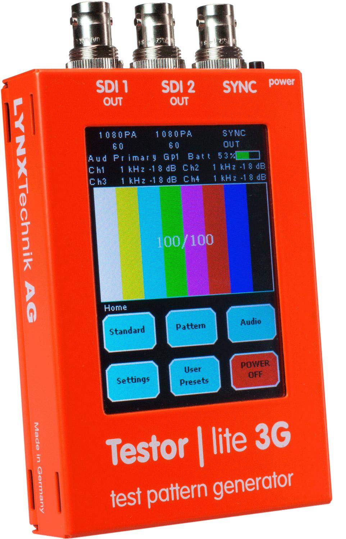 Lynx Ptg 1802 Testor Lite 3g Sd Hd 3g Test Pattern Generator