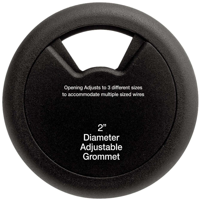 Low Voltage Grommet : Inch diameter desktop grommet