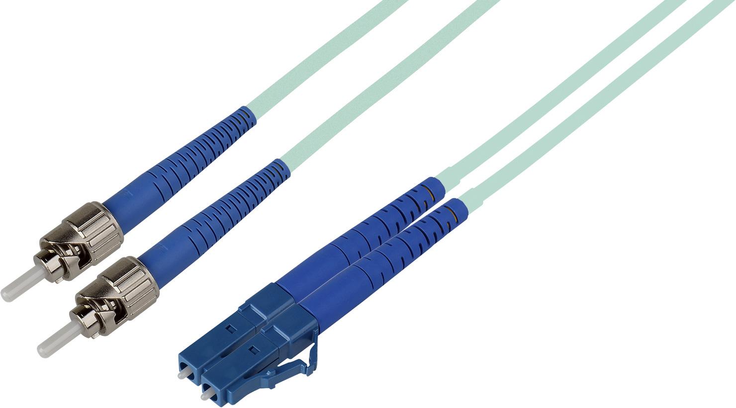 10 Meter 50 125 Fiber Optic Patch Cable Multimode Duplex