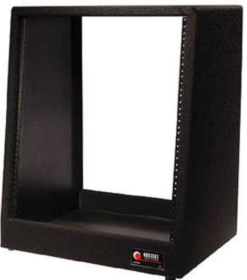 Odyssey Crs12 Carpeted 12 Space Slant Rack 12 Inch Top