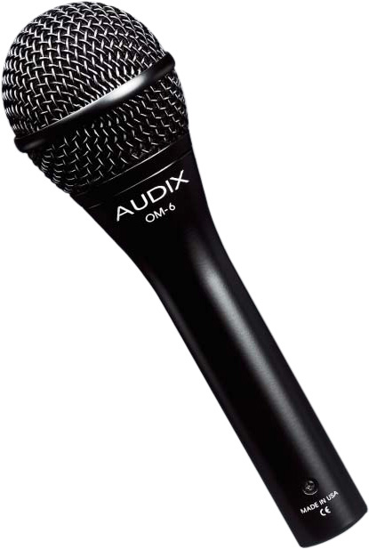 audix om6 hyper cardioid handheld mic. Black Bedroom Furniture Sets. Home Design Ideas