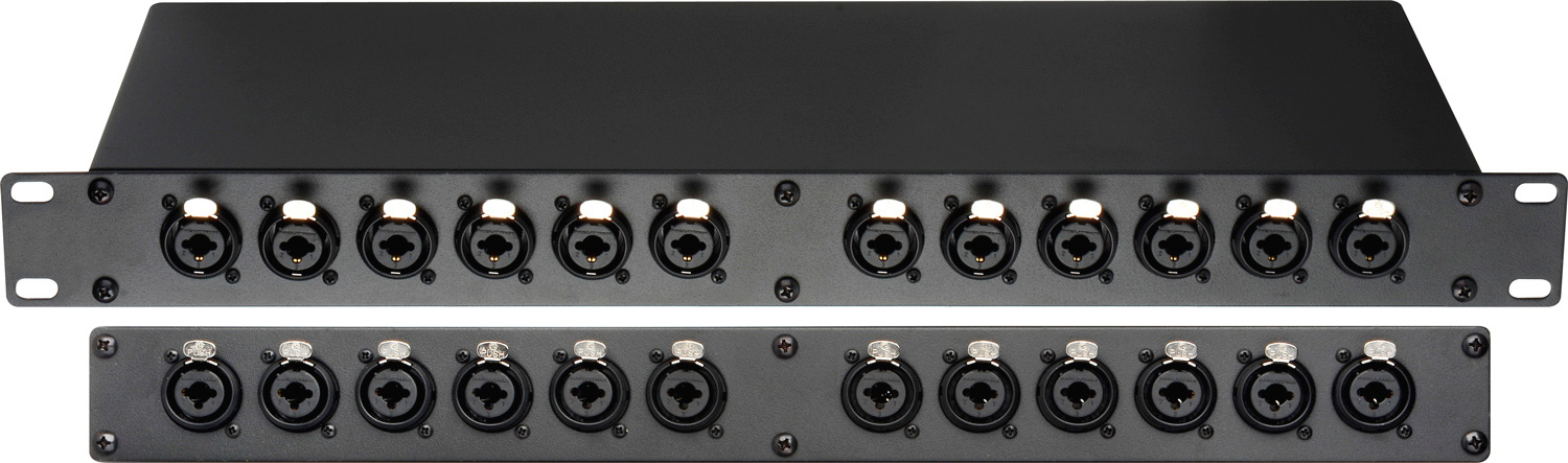 Connectronics Pbxlr 12combo 24 Point Xlr Amp 1 4 Trs Combo