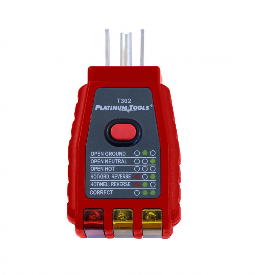 Electrical Socket Tester : Platinum tools t c gfci socket tester