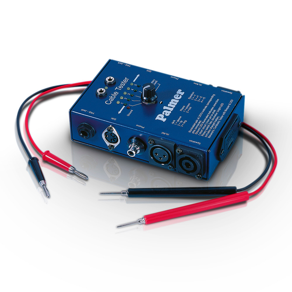 Audio Cable Tester : Palmer audio ahmct cable tester