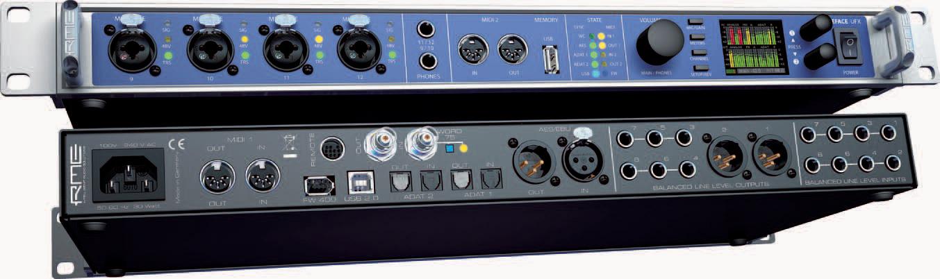rme fireface ufx 60 channel 24 bit 192khz high end usb firewire audio interface. Black Bedroom Furniture Sets. Home Design Ideas