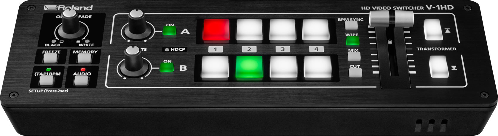 roland v 1hd portable compact live hd video mixer production switcher. Black Bedroom Furniture Sets. Home Design Ideas