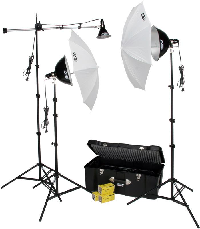 Smith Victor Light Kit on Markertek - America's Broadcast Supply House