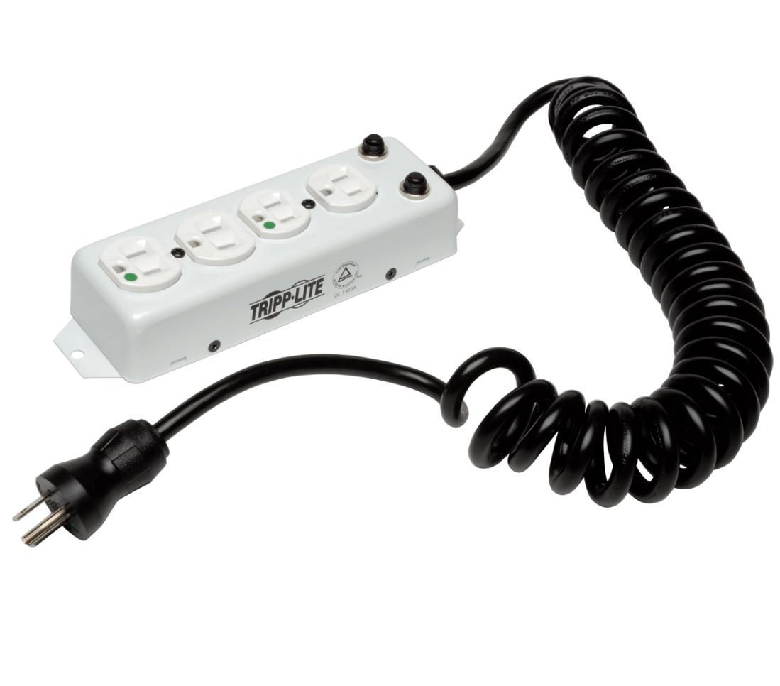 Power Cord Strip : Tripp lite ps hgoemcc power strip medical outlet