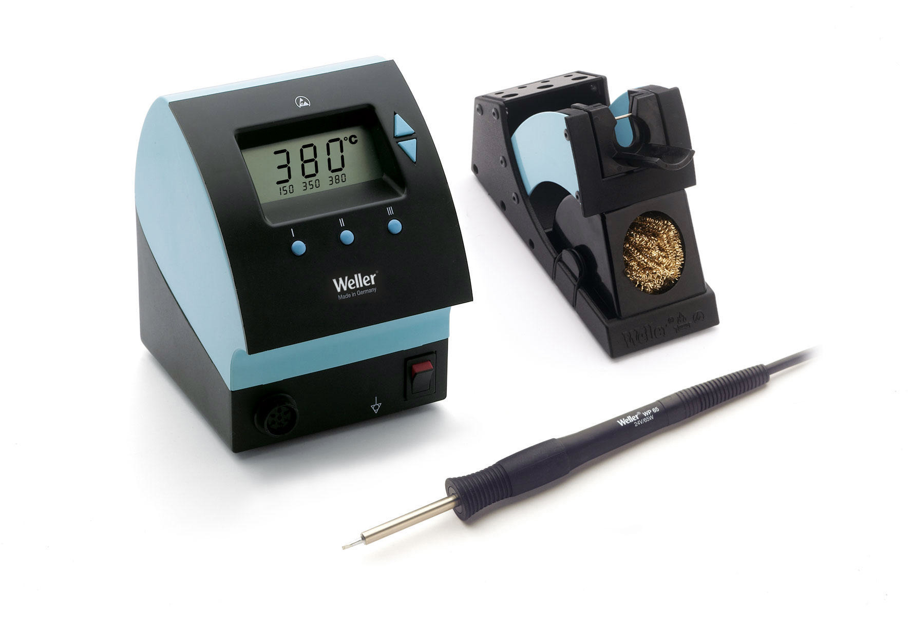 Digital Soldering Station : Weller wd single port digital soldering station w