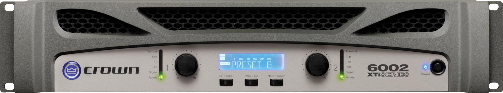crown xti 6002 2 channel 2100w 4 ohms power amplifier. Black Bedroom Furniture Sets. Home Design Ideas