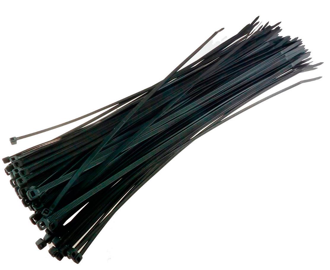 rip tie lite 8in black 100 pk