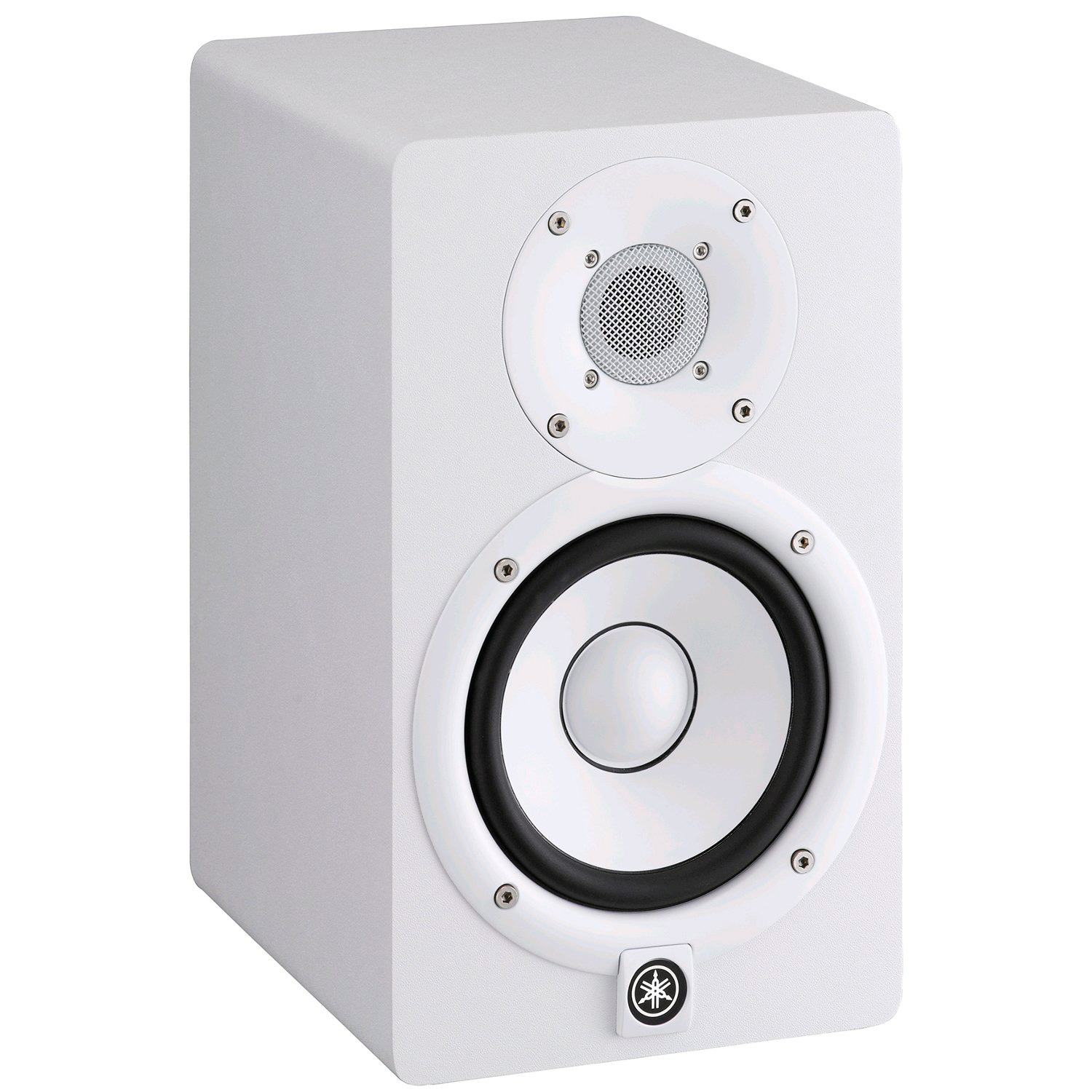 yamaha hs5 powered studio monitor white