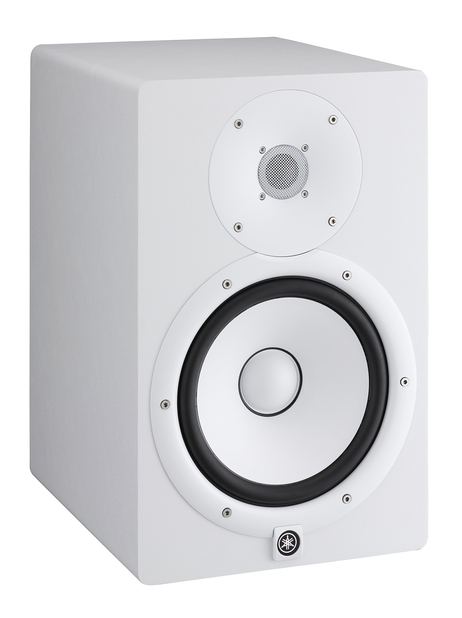Yamaha hs7 powered studio monitor white for Yamaha powered monitor speakers