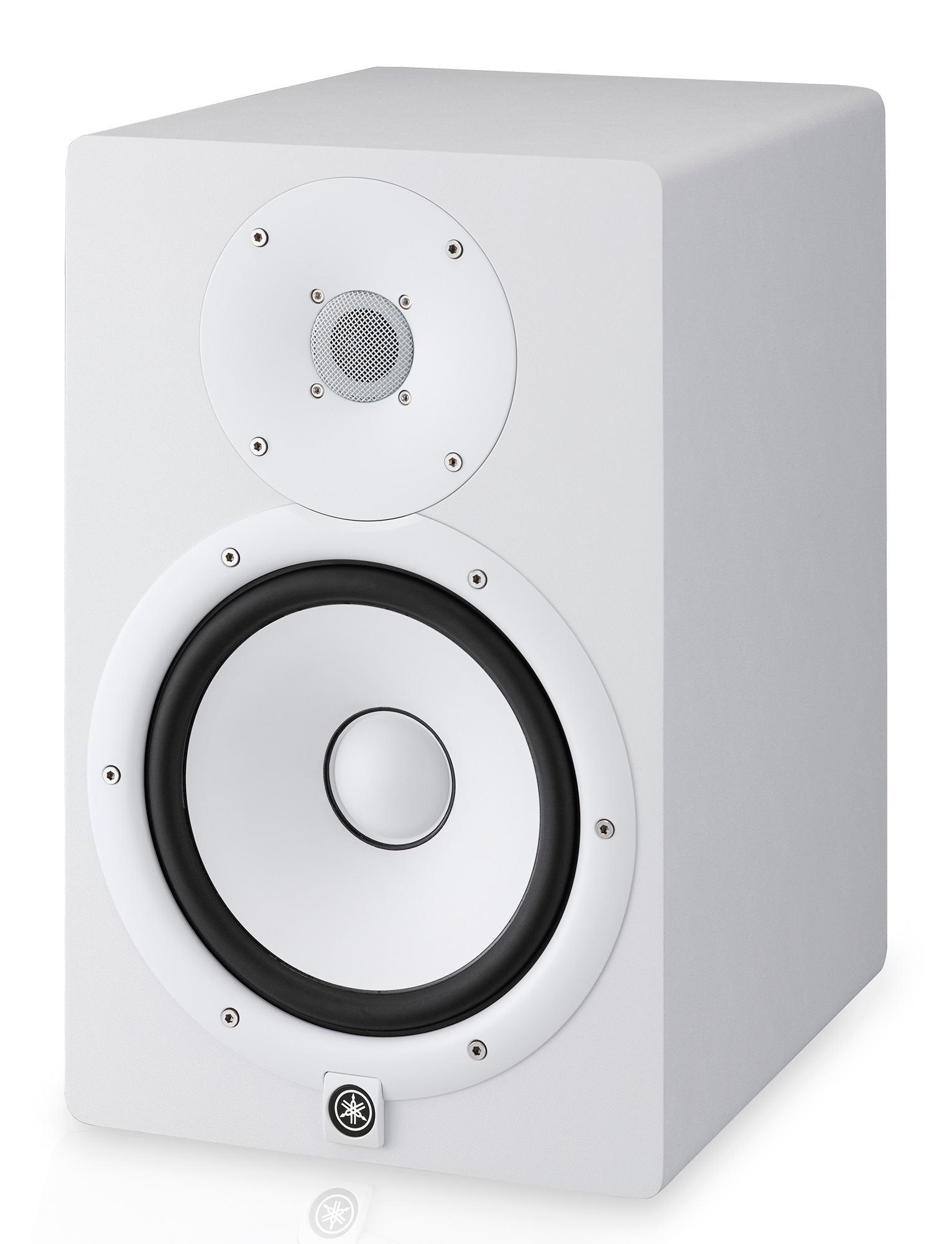 Yamaha hs8 powered studio monitor white for Yamaha hs8 studio monitor speakers