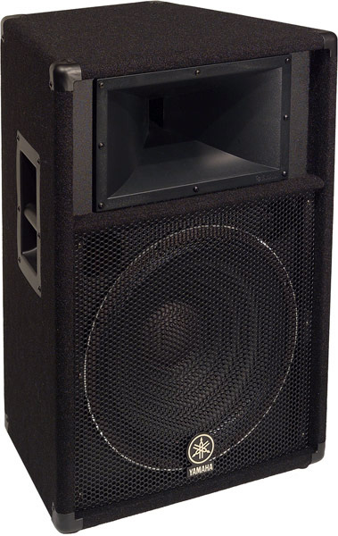 Yamaha s115v carpeted 15 inch 2 way loudspeaker system for Yamaha 15 speakers