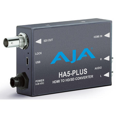 AJA HA5-Plus HDMI to 3G-SDI Mini-Converter