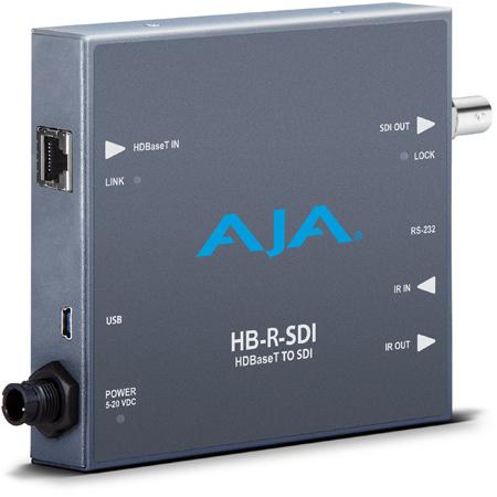 AJA HB-R-SDI HDBaseT to 4K 3G-SDI Mini-Converter Receiver