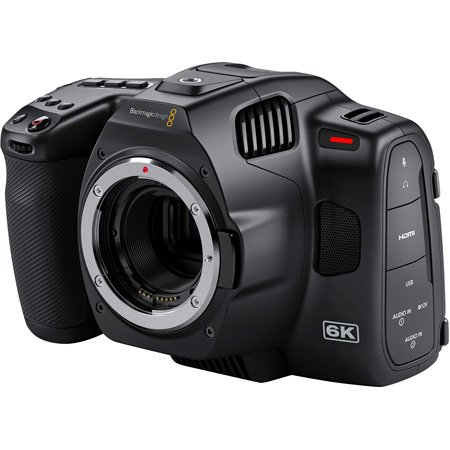 Blackmagic Design Pocket Cinema Camera 6k Pro with 5 Inch LCD Touchscreen & ND Filters