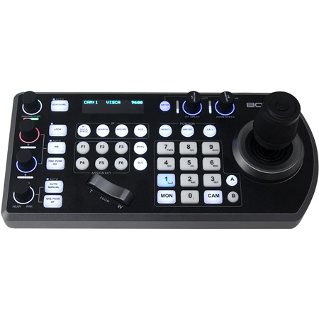 Bolin Technology KBD-1010-RNV RS232/RS422 and IP PTZ Camera Remote Controller/Keyboard