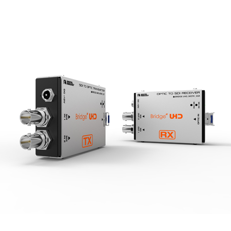 Digital Forecast UHD M-OTR-3GT/R SD/HD/3G Dual SDI to LC Simplex Singlemode Fiber TX/RX Bundle w/ SFP Modules