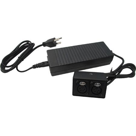 IndiPro Tools PRO4PN Dual 4-Pin XLR AC Power Adapter
